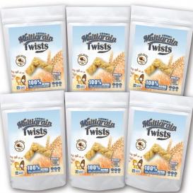 多穀物麻花捲超值組 (椰奶) 120g*6包