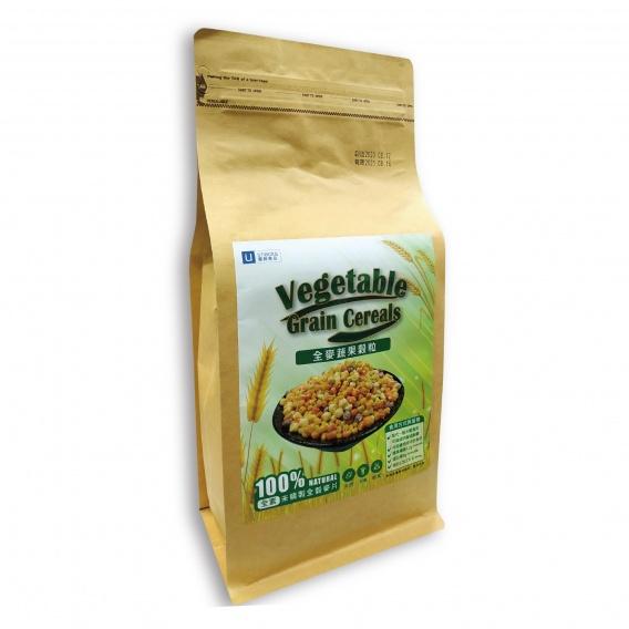 全麥蔬果穀粒(未精緻全穀麥片-代餐) 500g