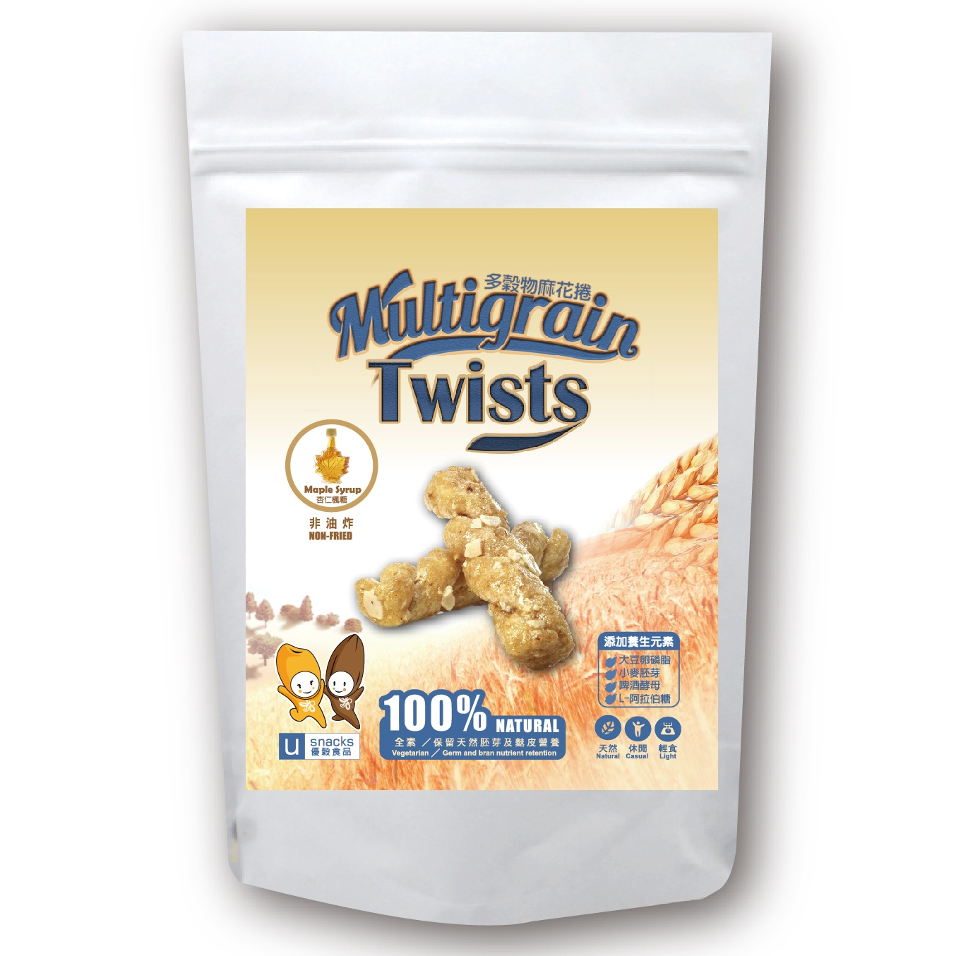 Multigrain Twists (Maple syrup)